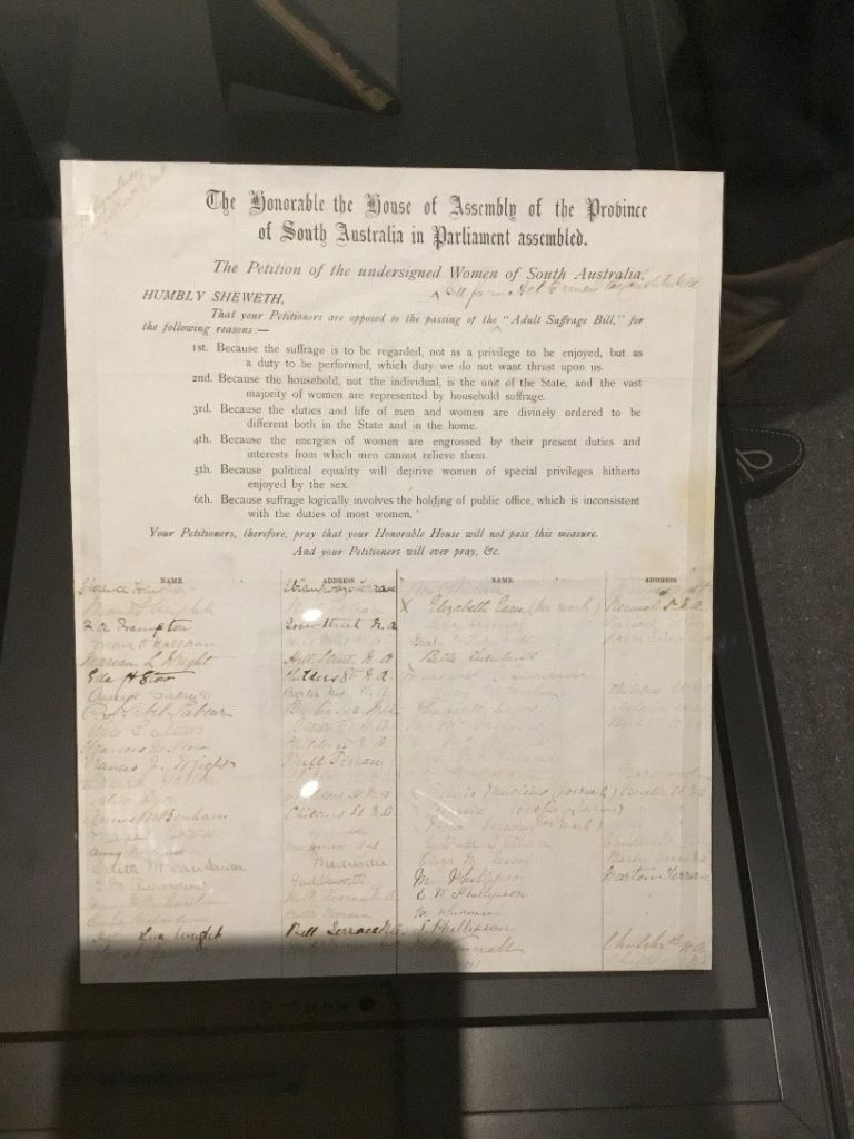 South Australian women's suffrage petition