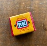 Wrigley's PK Gum, Parndana Museum, Kangaroo Island