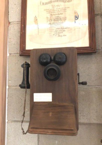 Telephone, Parndana Soldier Settlement Museum, Kangaroo Island