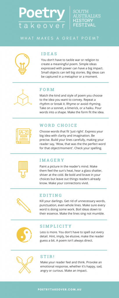 Quick tips for crafting your poem