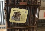 Wool press, Parndana Museum, Kangaroo Island